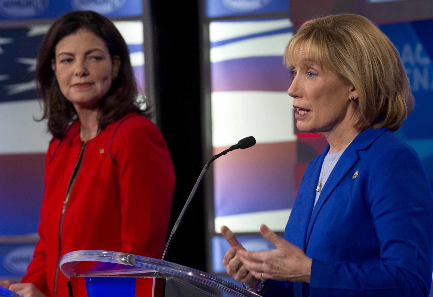 Hassan, Ayotte paint each other as weak on cybersecurity