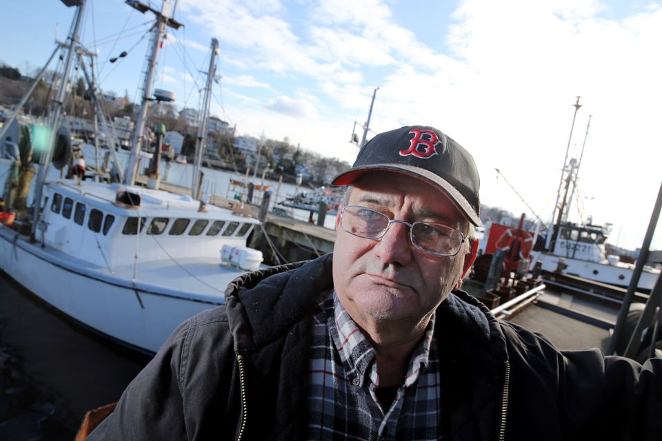 """Fisherman Rick Beal has never learned to swim, but he won't wear a life preserver.  """"You just come to accept some things — that if you go overboard, you go,"""" said Beal, 65. """"That's it."""""""