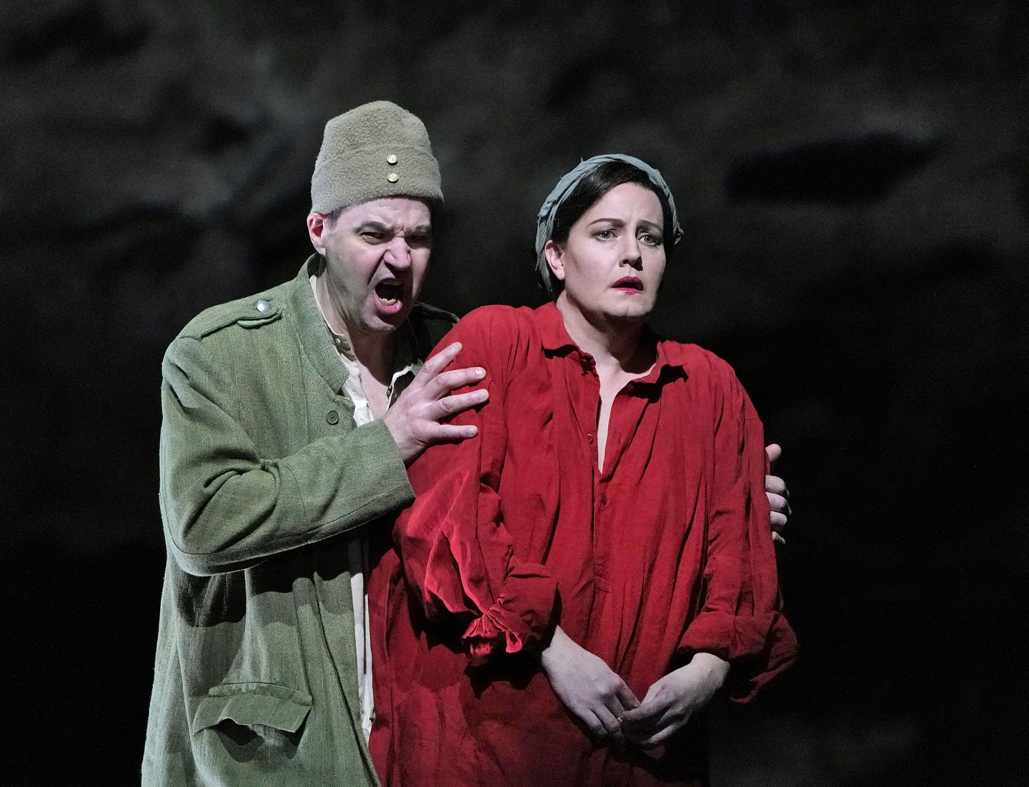 Andrea Berg Fakes berg's 'wozzeck' returns to the met, refashioned for a time