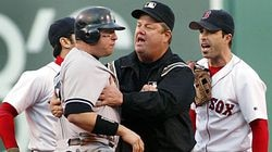 Tempers flared during the 2003 playoffs, when the Red Sox-Yankees rivalry was at a peak of intensity.