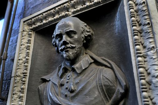 Shakespeare in the Tow Zone: What's up with Chinatown's bust of the Bard?