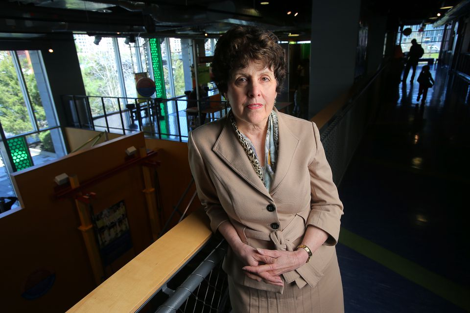 """Carole Charnow, president and CEO of the Boston Children's Museum, turned down funding from Houghton Mifflin Harcourt. """"I felt in the end that placing the consequences of this book in such close proximity to the Children's Museum ... was not the right fit."""""""