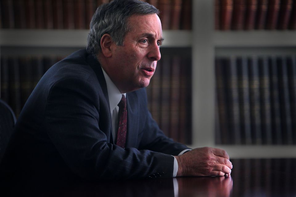 Lawrence Bacow takes over as Harvard University's 29th president this month.