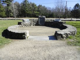 The Lexington site where Revere was captured.