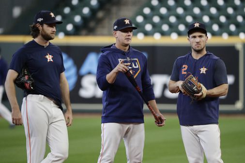 Astros find themselves in league of their own