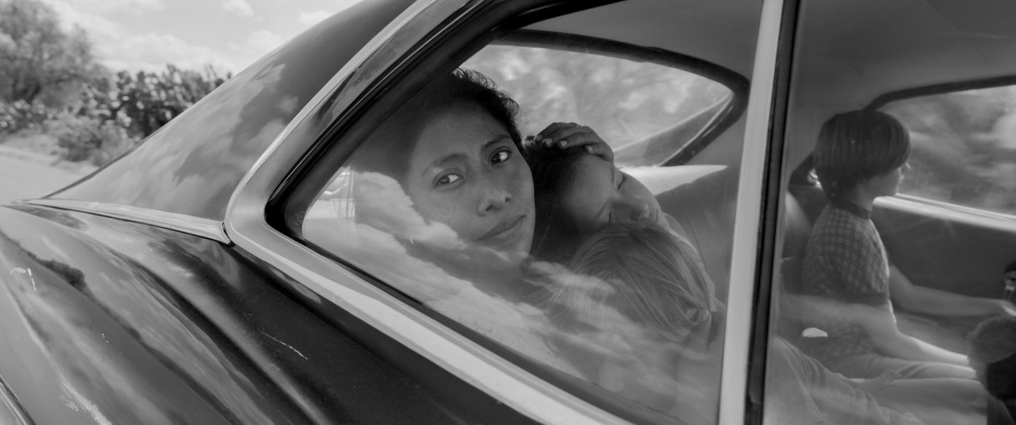 Yalitza Aparicio as Cleo, a young domestic worker who lives with her middle class employers in Mexico City in 1970.