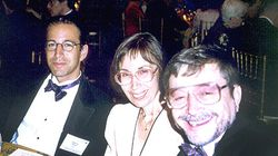 Ruth Pearl (center) with son Daniel, left, and husband Judea in an undated photo. Pearl founded the Daniel Pearl Foundation in memory of her son, a Wall Street Journal reporter who was kidnapped and murdered in Pakistan in 2002.