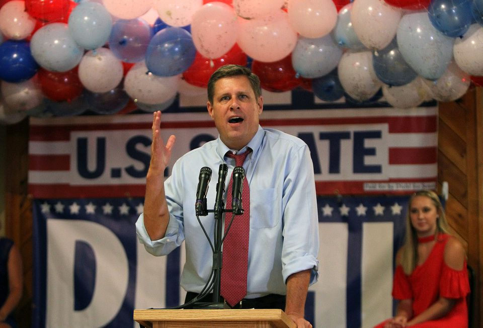 Geoff Diehl, who co-chaired Donald Trump's state campaign in the 2016 presidential race, is now a strong favorite to win next month's Republican convention endorsement of his Senate campaign.