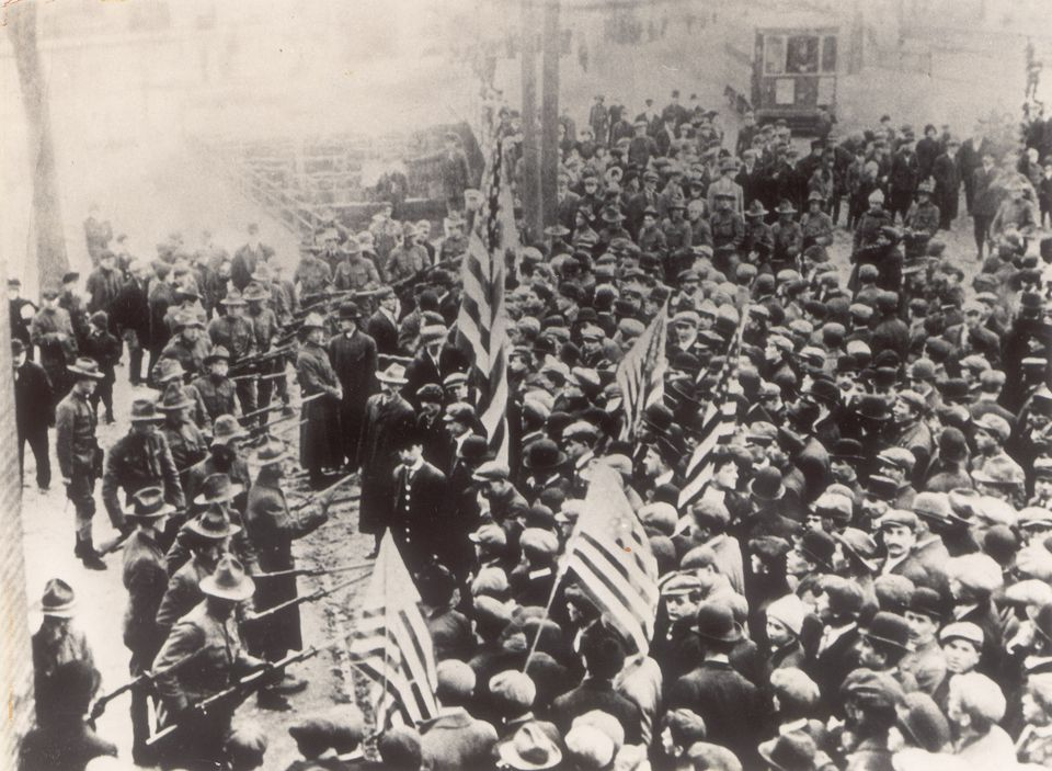 """Nicknamed the """"immigrant city,"""" Lawrence was in 1912 the scene of one of the country's most notable labor strikes, started and dominated by female textile workers."""