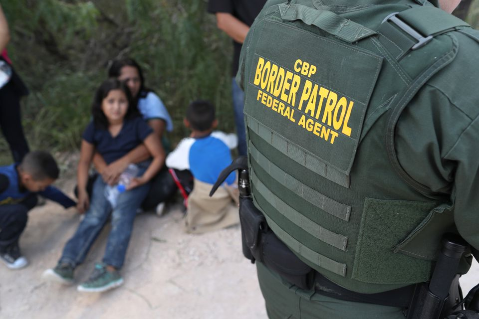 Central American asylum seekers waited last week in McAllen, Texas, as US Border Patrol agents took them into custody.