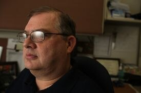 Bill Dockham, a registered nurse who worked in the main medical tent after the bombings, has had panic attacks.