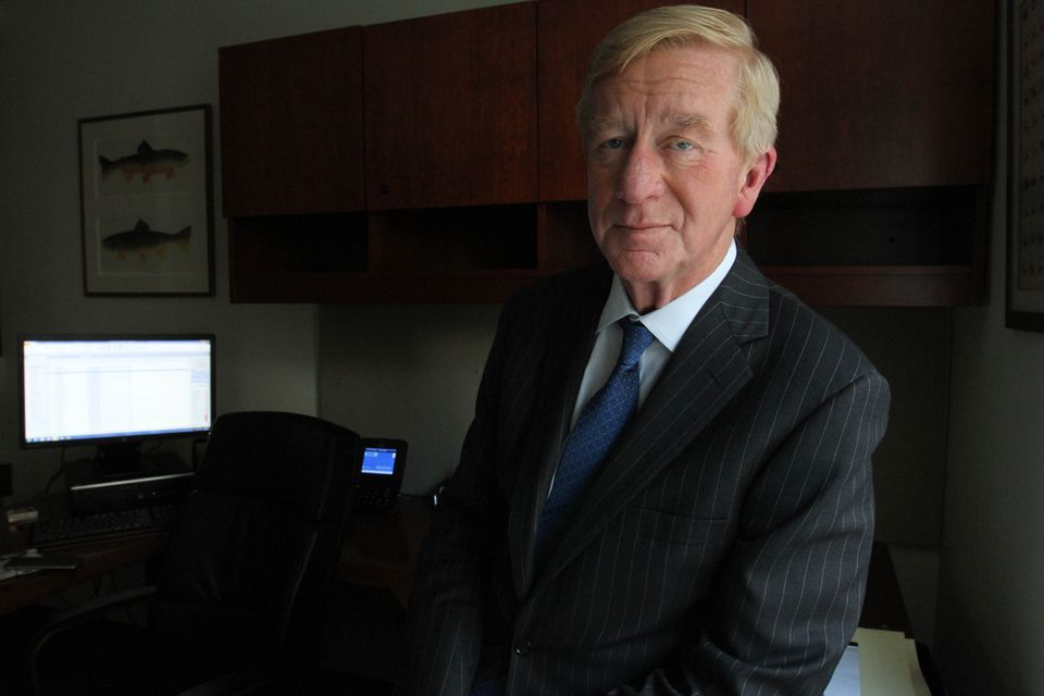 Former Governor of Massachusetts William F. Weld posed for a photograph in his office in New York on May 19.