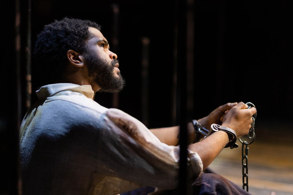"""Brandon G. Green plays the title character in """"Nat Turner in Jerusalem."""""""