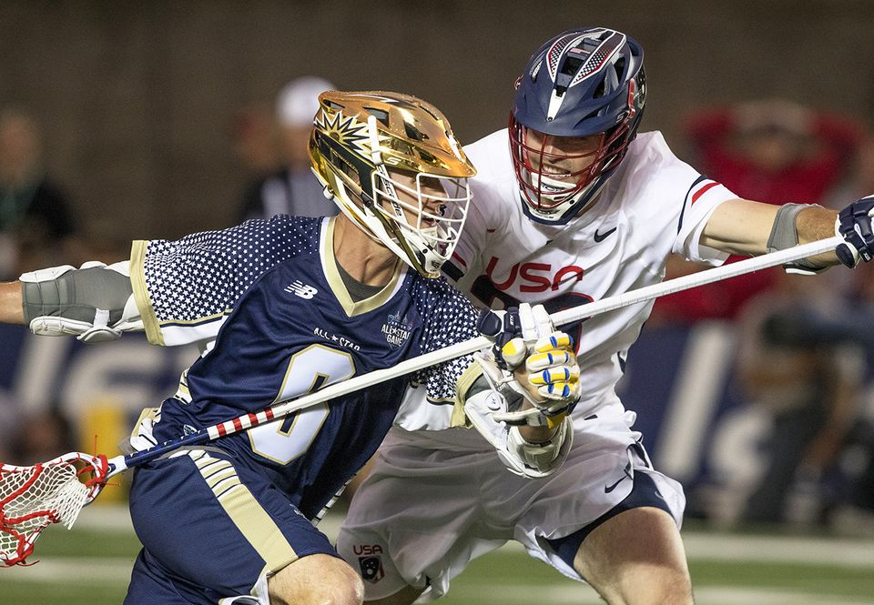 The MLL All-Star Game was played at Harvard Stadium last June.
