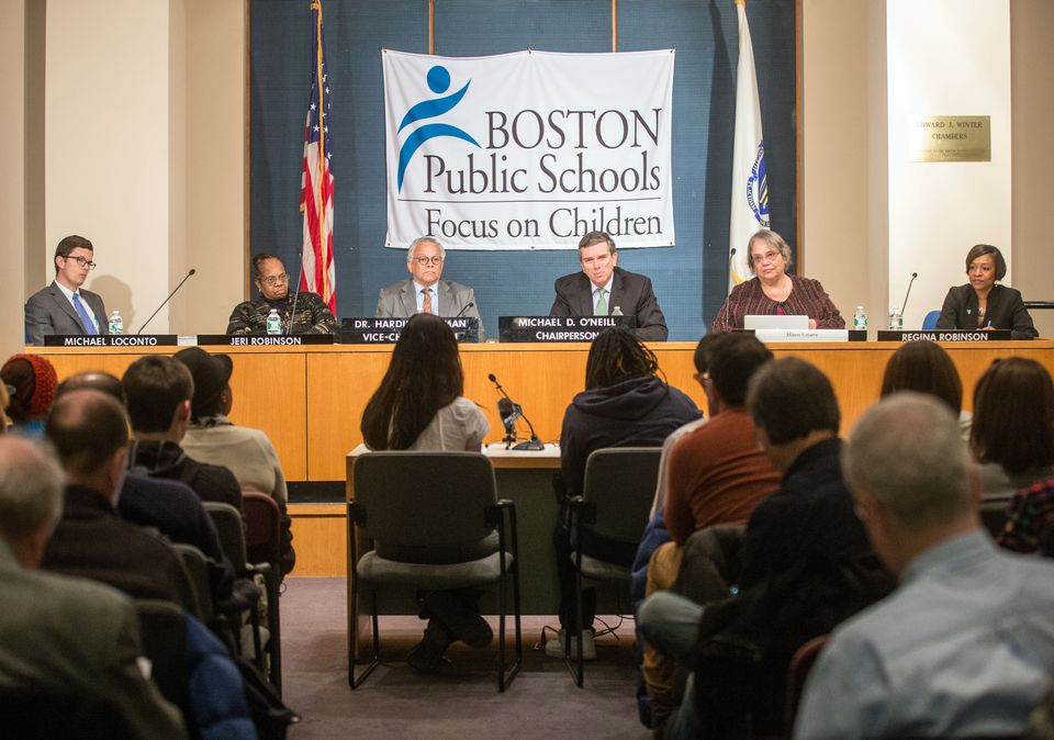 The Boston School Committee met to select the new superintendent of public schools earlier this month.