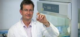 Dr. Robert Anderson's research is zeroing in on a potential vaccine against celiac disease.