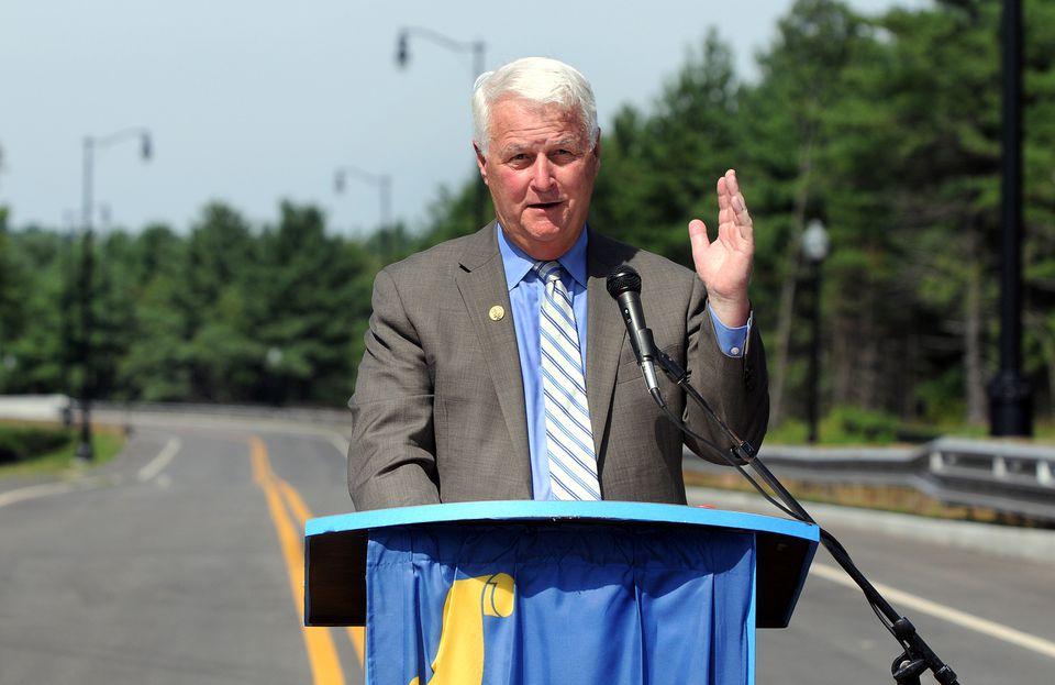 Former congressman Bill Delahunt is a lobbyist.