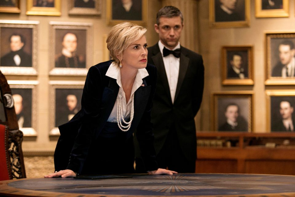 """Sharon Stone stars as the vice president in TNT's """"Agent X."""""""