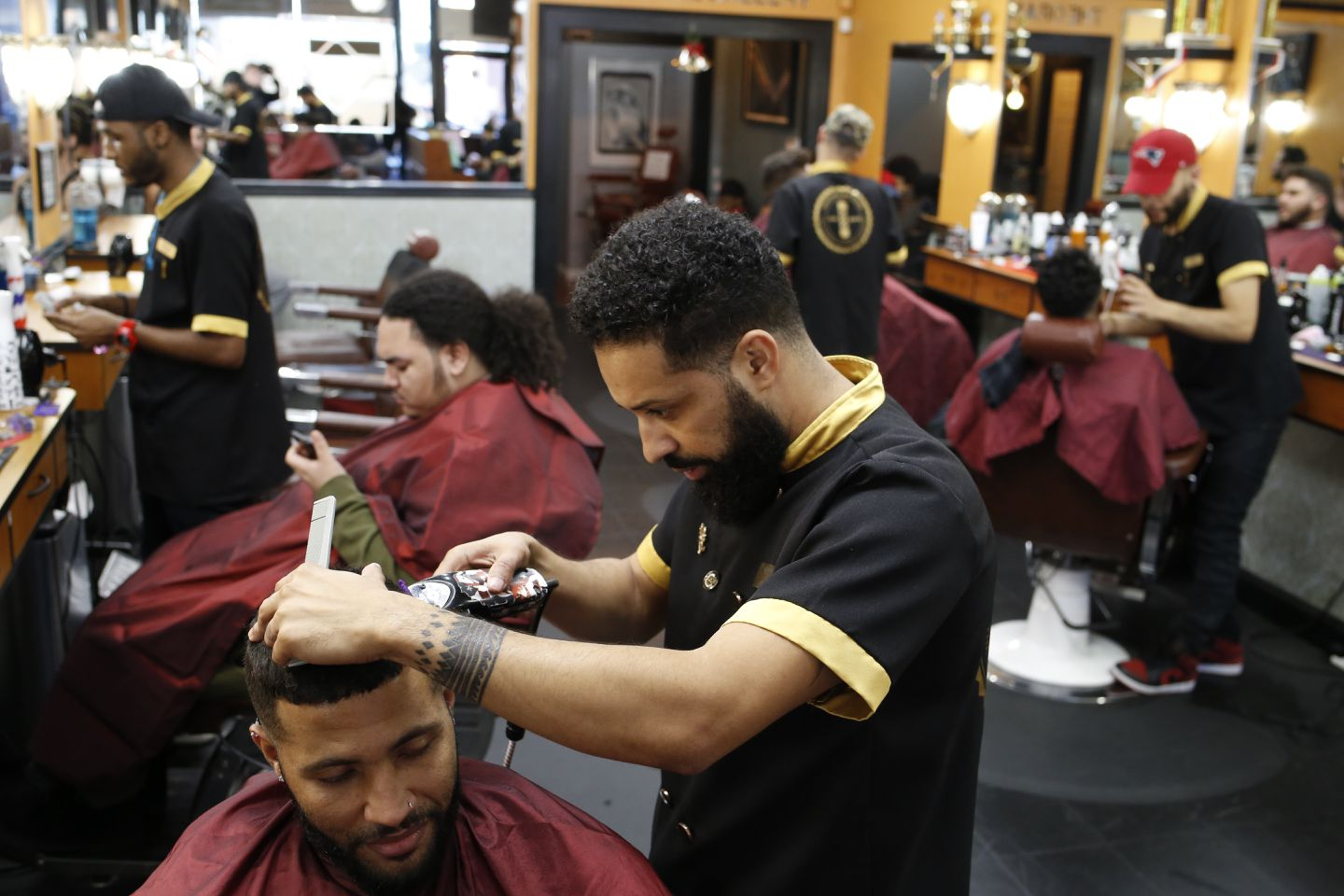 Revealing The Barbershop For What It Is A Black Man S Safe Space The Boston Globe