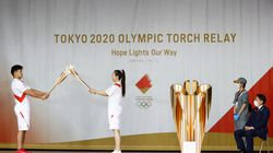 An ignition ceremony for the torch relay was held at Heiwadai Athletic Stadium in Fukuoka on Tuesday.