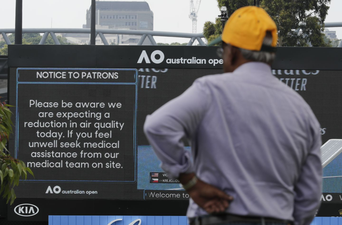As Australian Open Nears Air Quality Remains Pressing Issue