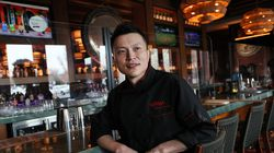 Iverson Guo, owner of Karma in Burlington.
