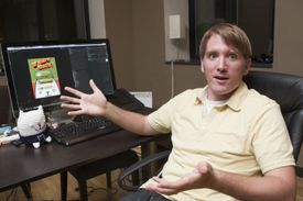 Even though he is chief operating officer of Summer Camp Studios, Rich Gallup said he will soon need a full-time job.