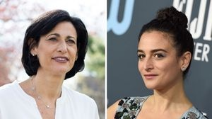 CDC director Dr. Rochelle Walensky and author, actress, and comedian Jenny Slate.
