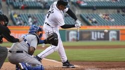 Miguel Cabrera had two RBI singles Wednesday against the Royals, and has six hits in his last four games.