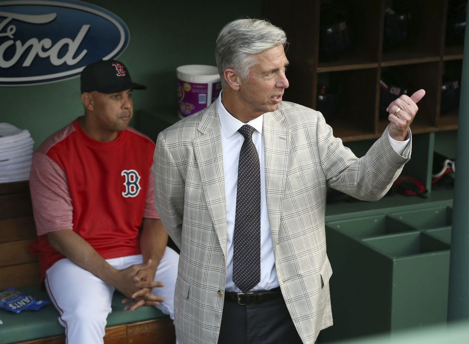 President of baseball operations Dave Dombrowski may opt to obtain another righthanded starter that manager Alex Cora could use in the postseason rotation.