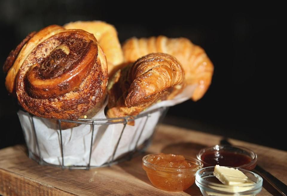 A selection of pastries at Tatte.