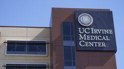 The University of California Irvine Medical Center is seen in Orange, Calif., Saturday, Oct. 16, 2021.