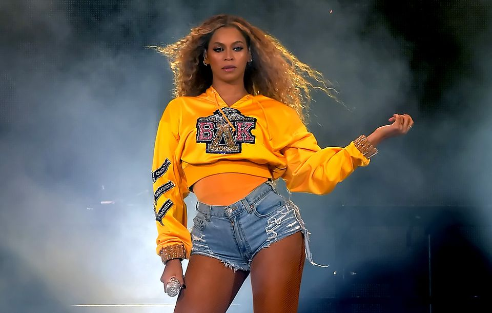 Beyoncé performed during Coachella in 2018.