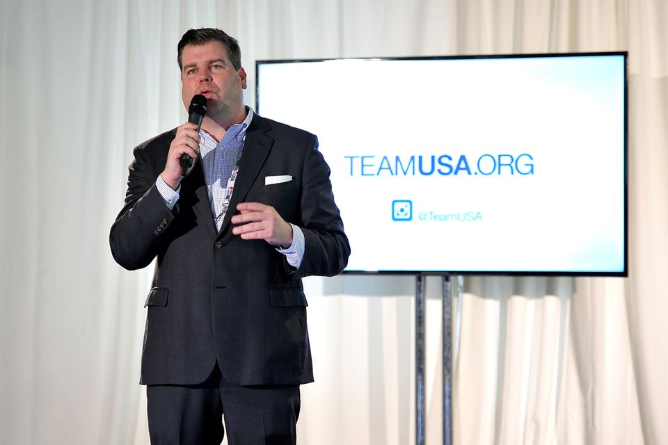 Patrick Sandusky, chief communications and public affairs officer for the USOC, accused No Boston Olympics co-chairman Chris Dempsey several times of presenting inaccurate information.