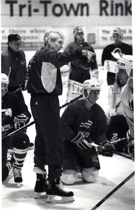Tim Taylor coached all levels of hockey, from youth leagues to the Olympics. He spent three decades at Yale University, where he won more hockey games than any other coach.