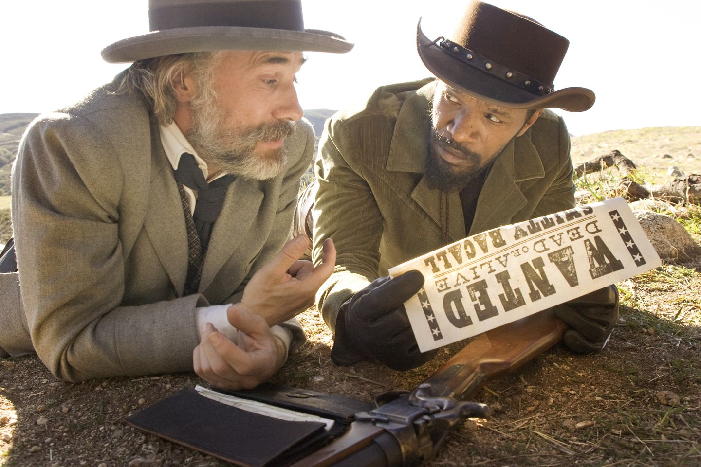 how many times do they say the n word in django