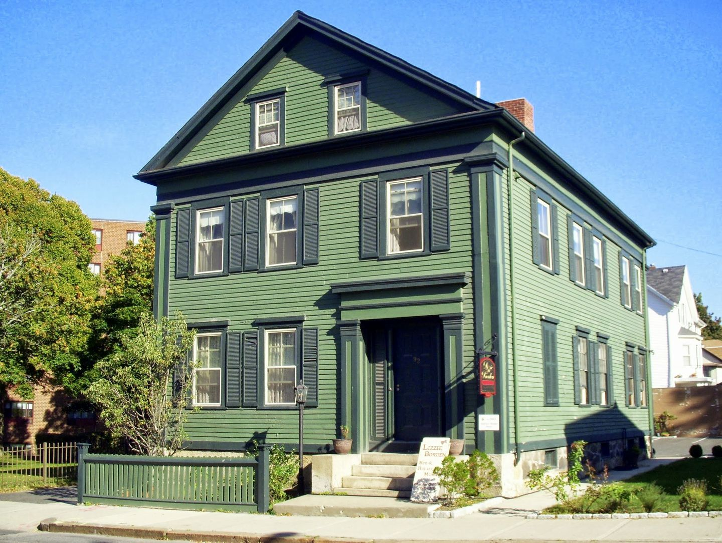 For $2 million, you can own the house where Lizzie Borden's family was  murdered - The Boston Globe