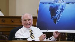 Representative Mike Kelly, Republican of Pennsylvania, used an iceberg to illustrate his warning to the House Ways and Means Committee of the danger of increasing the debt limit.