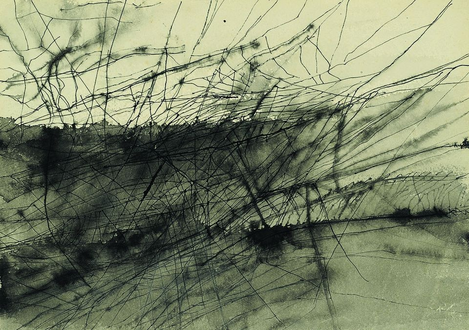 An untitled work from the 1960s.