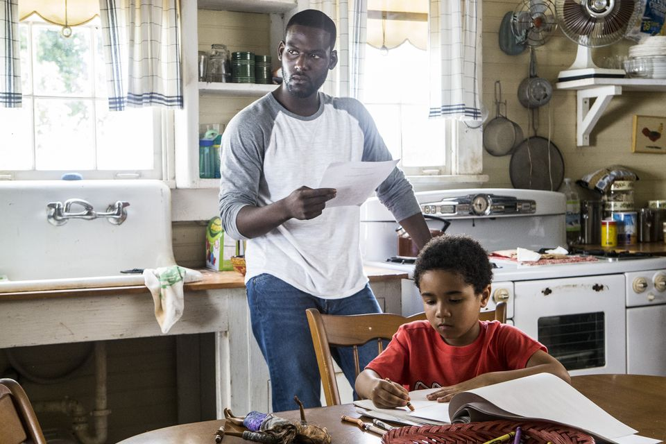 "Kofi Siriboe (left) and Ethan Hutchison in ""Queen Sugar."""