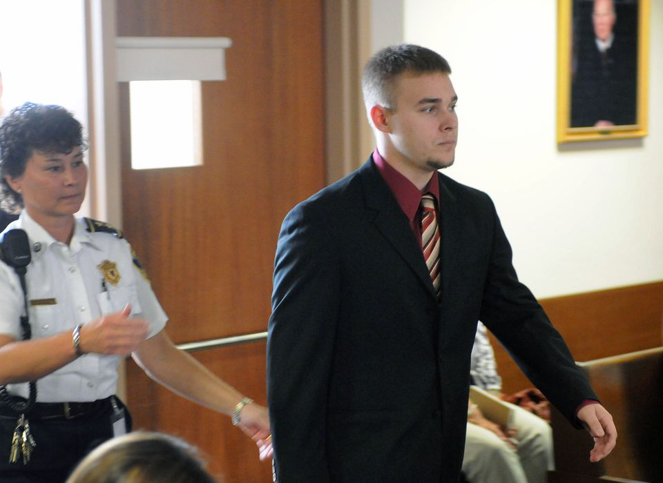 Sean Mulveyhill, shown in court in 2010, pleaded guilty to criminal harassment of Phoebe Prince and was sentenced to a year of probation.