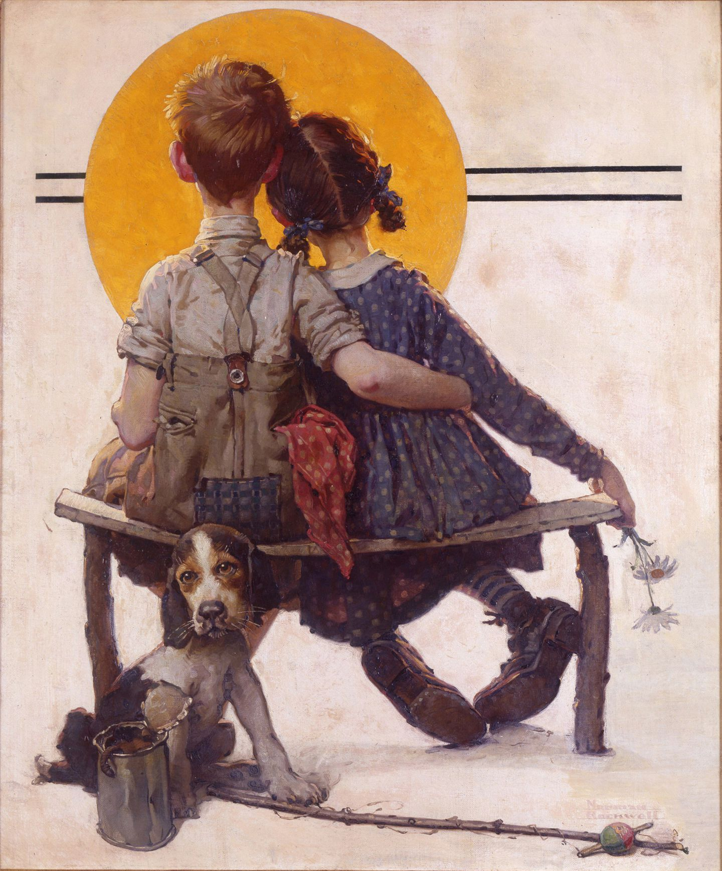 Norman Rockwell Museum acquires iconic painting - The Boston Globe