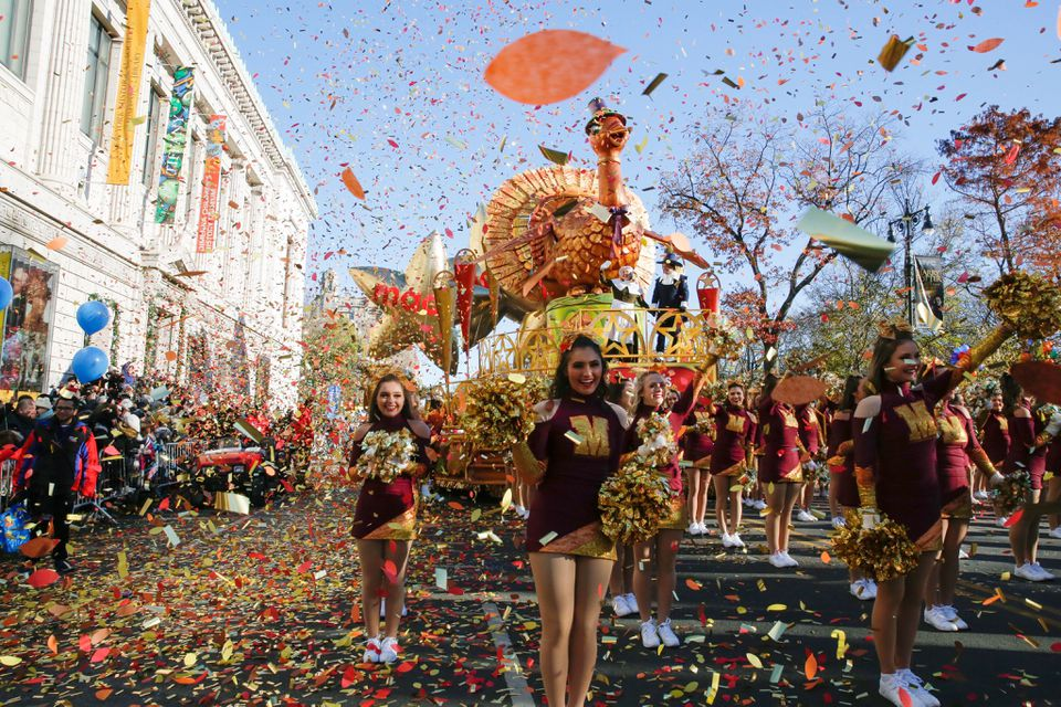 People took part in the 92nd annual Macy's Thanksgiving Day Parade,