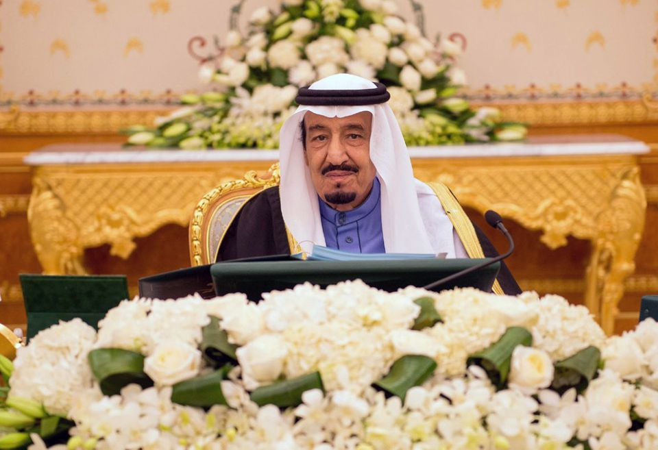 King Salman came to the Saudi throne a year ago, upon the death of his predecessor.