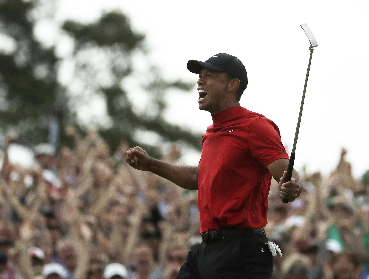 55417f3a2618 Tiger Woods ends 11-year majors drought with Masters victory - The ...