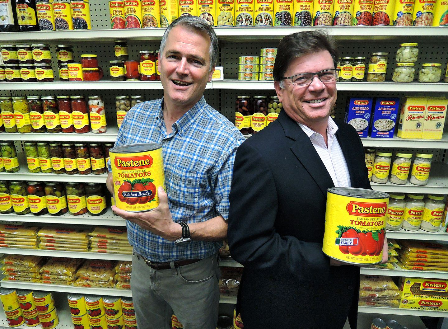 Christopher (left) and Mark Tosi at their Canton business.