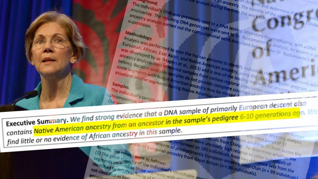 Is Elizabeth Warren's genetic test conclusive? - The Boston Globe