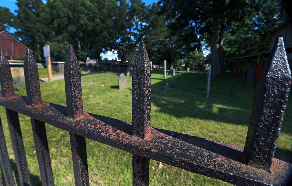 Last year, the city preserved and restored some of the cemetery's most endangered headstones and tombs.
