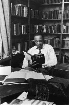 The Rev. Martin Luther King's time at Boston University proved pivotal.