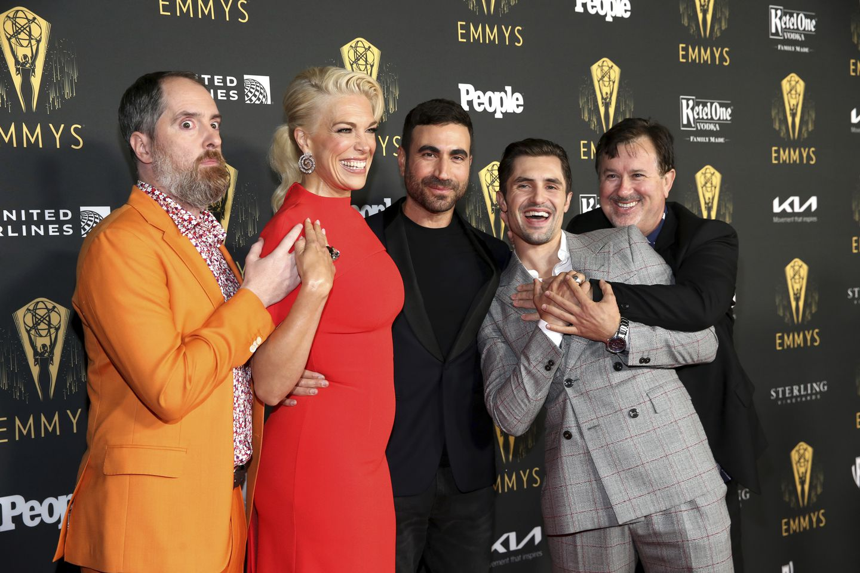 Ted Lasso,' 'Crown,' 'Hacks' among Emmy Award winners   The Boston ...